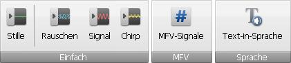 "AVS Audio Editor - Registerkarte ""Erstellen"""