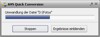 AVS Quick Conversion