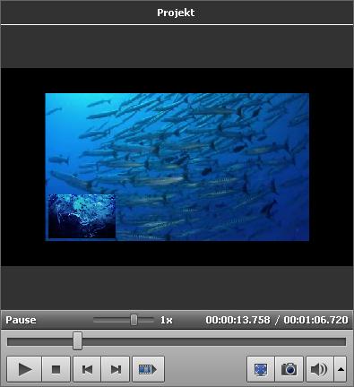 Effekt der Videoüberlagerung