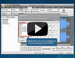 AVS Audio Editor. Sehen Sie die Videopräsentation