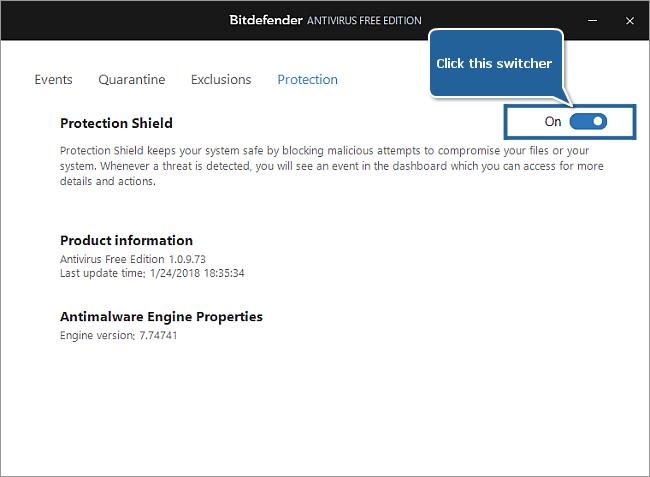 Bitdefender Antivirus Free Edition