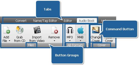 AVS Audio Converter - Audio Book Tab