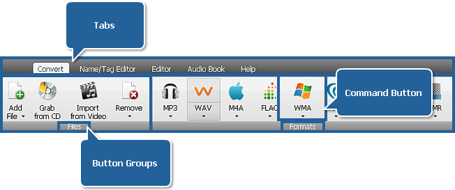 AVS Audio Converter - Convert Tab