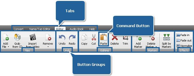 AVS Audio Converter - Editor Tab