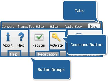 AVS Audio Converter - Help Tab