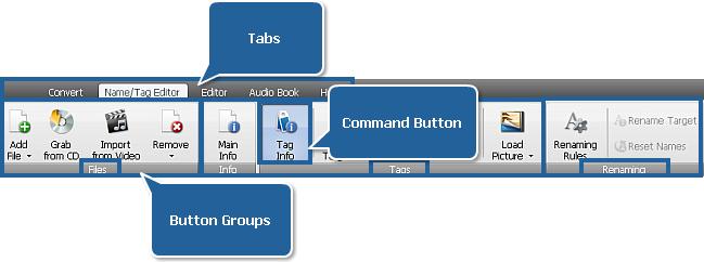 AVS Audio Converter - Name/Tag Editor Tab