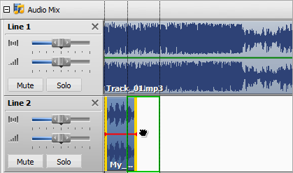 Changing Audio File Position