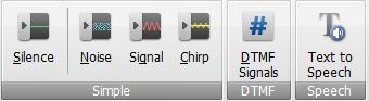 AVS Audio Editor - Generate Tab
