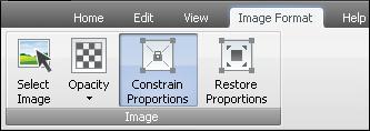 image Format Tab