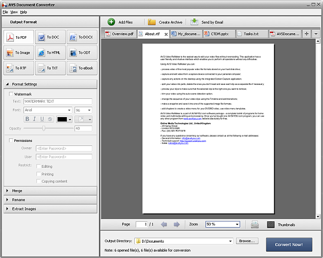 avs4you avs document converter converting documents