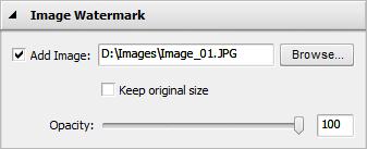 Image Watermark Properties