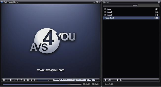 Main Window: Video Mode