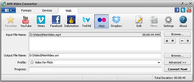 AVS Video Converter main window - Flickr