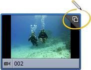 Detected scenes sign