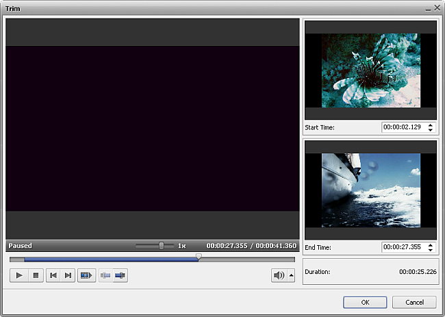 Changing Video Overlay Duration at Timeline