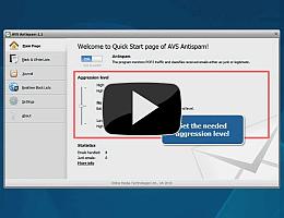AVS Antispam. Watch video presentation
