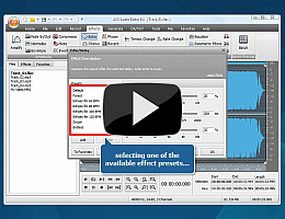 AVS Audio Editor. Watch video presentation