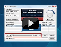 AVS Audio Recorder. Watch video presentation