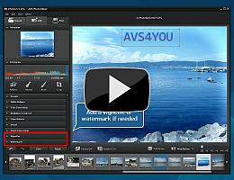 AVS Photo Editor. Watch video presentation