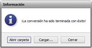 Funciones de AVS Audio Converter - Information window