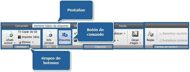 AVS Audio Converter - Pestaña Editor de etiquetas