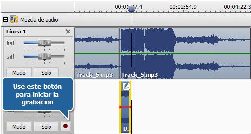 Grabación de audio