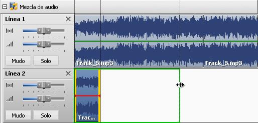 Recorte de archivos de audio