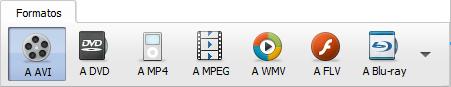 Main Toolbar - Formats Tab