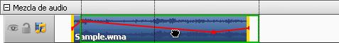 Cómo cambiar la posición de un efecto audio en la película