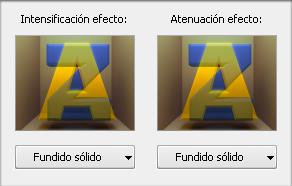 Ventana Atributos de superposición. Animación