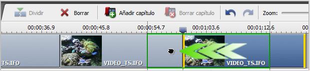 Cómo mover clip de vídeo