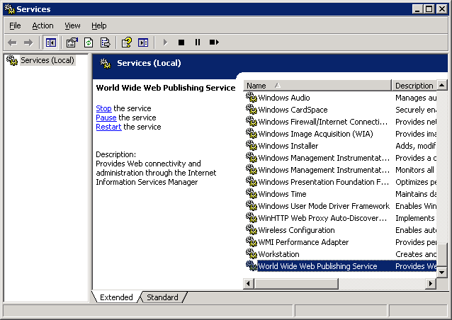 Activation de Windows Server 2003 pour le streaming des vidéos FLV
