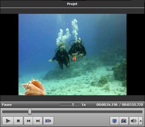 Example de la Superposition vidéo