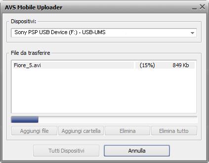 AVS Mobile Uploader