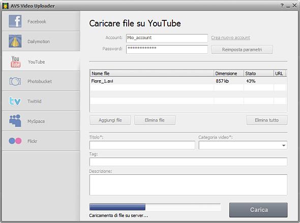 AVS Video Uploader
