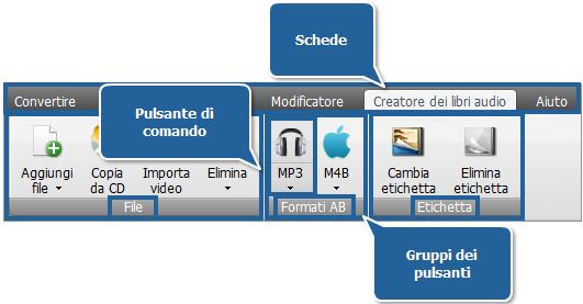 AVS Audio Converter - Scheda Creatore dei libri audio