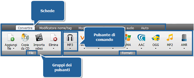 AVS Audio Converter - Scheda Convertire