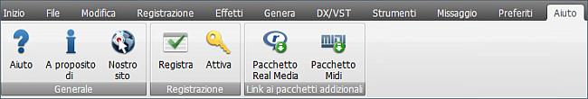 AVS Audio Editor - Scheda Aiuto