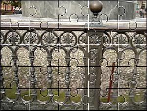 Dopo l'applicazione dell'effetto puzzle