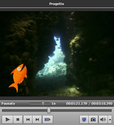 Esempio di sovrapposizione video