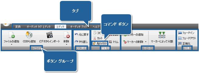 AVS Audio Converter - エディタ タブ