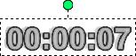 タイマー矩形
